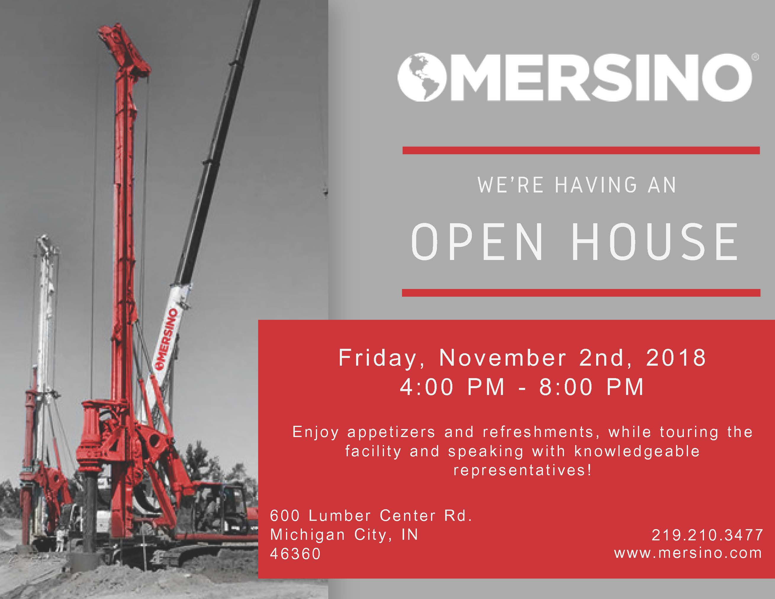 Michigan City Open House