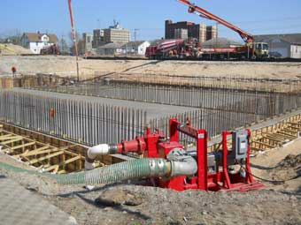 Commercial Dewatering Construction