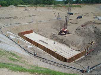 Construction Site Deep Well Dewatering