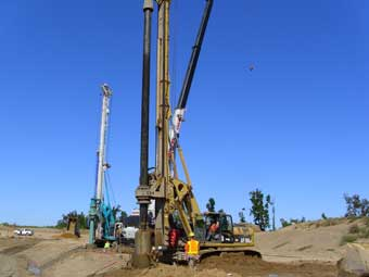 Drilling 70 Deep Wells Dewatering 70000 Gallons Per Minute