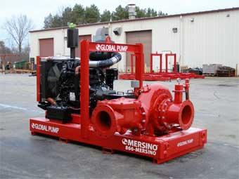 Global Pump Auto Prime Centrifugal Trash Pump