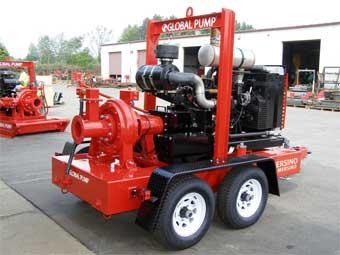 Global Pump High Pressure Centrifugal Trash
