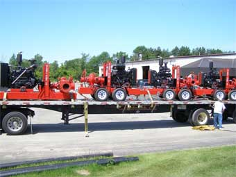 Global Pumps Ready for Deployment