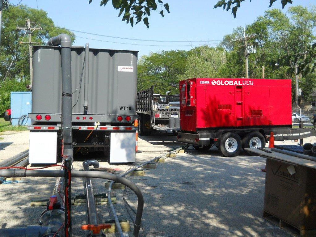 Jobsite Trailer Power Generation