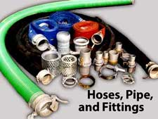 Mersino Rents Hose Pipe and Fittings