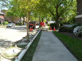 Neighborhood Wellpoint Dewatering