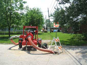 Sanitary Sewer Construction Bypass Pumping
