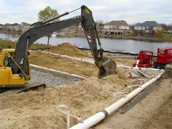 Commercial Building Wellpoint Dewatering