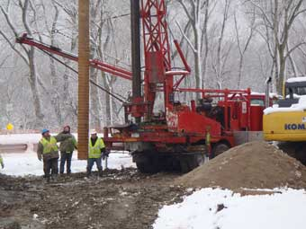 Deep Well Dewatering Installation