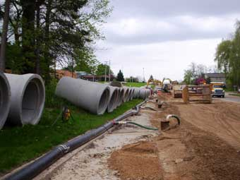 Deep Well Road Construction