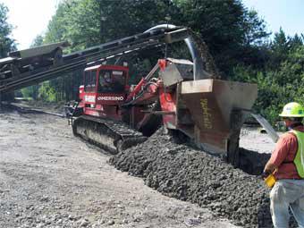 HDPE Barrier Wall Construction