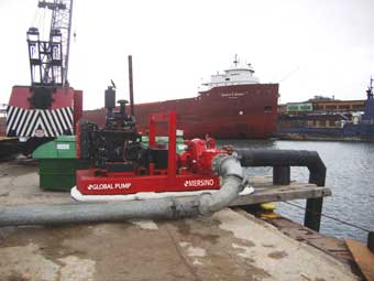 Marine Pump Barge