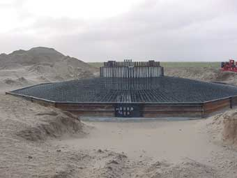 One Pass Trenching Dewatering Construction