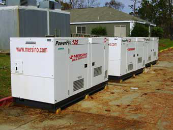 Power Generator Rental for Disaster Relief