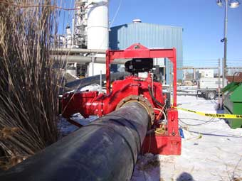 Praxair Plant Pumping