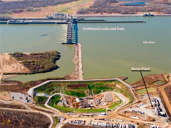 Smithland Kentucky Hydroelectric Plant