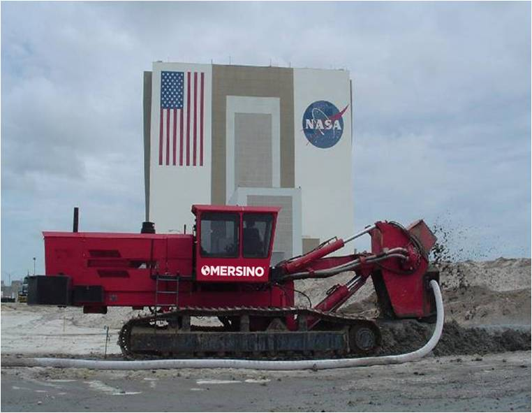 Sock Tile Drainage for NASA