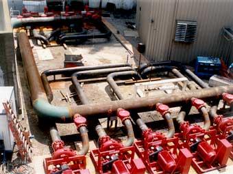 Steel Plant Water Supply Pumps